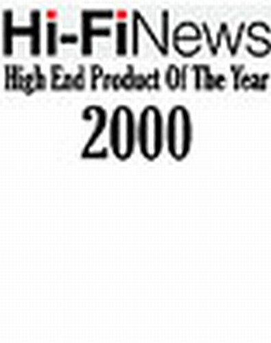 High End Product of the Year - 2000